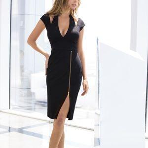 New Boston proper sexy zipper dress size 8